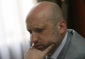 Турчинов назвал заявления Ющенко о ГТС  чушью и болезнью