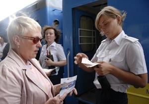При посадке в международные поезда у пассажиров будут проверять документы для выезда за границу