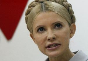 Тимошенко возглавит список партии Батьківщина на выборах-2012