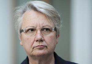 Министра образования Германии, обвиненную в плагиате, лишили ученой степени