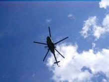 В зоне грузино-осетинского конфликта замечен неизвестный вертолет