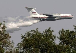 В Сибири борются с лесными пожарами