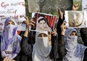 Талибы заявили, что раненная боевиками школьница заслуживает смерти согласно Корану
