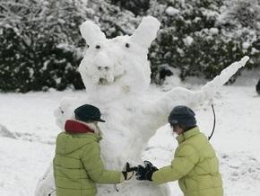 В Виннице провели Парад снеговиков