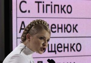Дело: Тимошенко готова предложить Тигипко пост премьера и половину Кабмина