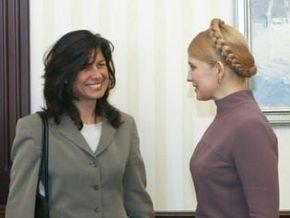 Тимошенко встретилась с миссией МВФ