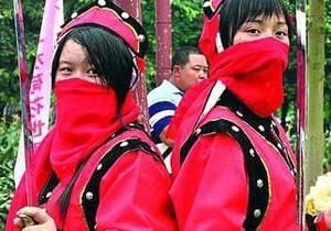 Китаянки выберут себе женихов, посоревновавшись с ними в кунг-фу