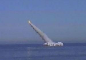 ВМФ РФ перенес залповый пуск Булавы