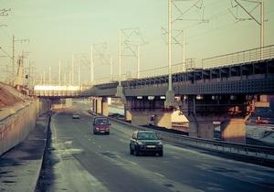 Сегодня открыли съезд с Дарницкого моста в сторону Конча-Заспы