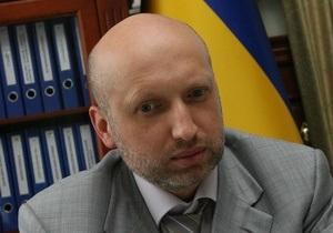 Турчинов заявил, что задержание экс-министра Филипчука связано с деятельностью Vanсo