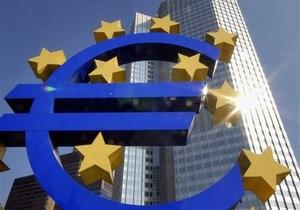Ставка кредитования еврозоны выросла из-за долговых проблем