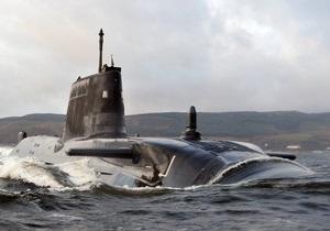 Британская атомная подлодка села на мель у берегов Шотландии