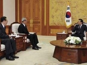 Президент Южной Кореи встретился с делегацией КНДР