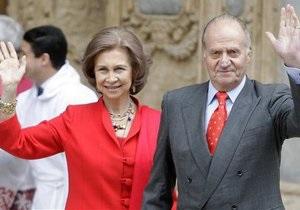 Королевская чета Испании отмечает 50-ю годовщину свадьбы