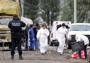 В Мексике взорвался грузовик с фейерверками, 13 человек погибли
