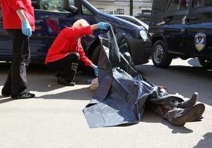 Милиция сообщила подробности убийства в центре Киева