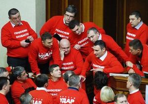Кличко сообщил о достигнутом прогрессе по выходу из парламентского кризиса