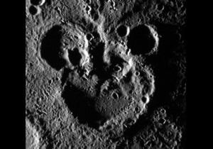 На Меркурии обнаружили кратеры в виде Микки Мауса