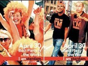 Путину не удалось блеснуть в амстердамской рекламе