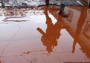 В Николаевской области произошел выброс в атмосферу красного шлама