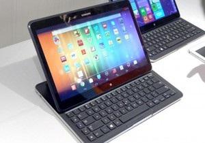 Два в одном. Samsung показала планшет, работающий и на Windows, и на Android