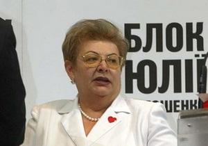 Тете Тимошенко отказали в размещении телероликов с новогодними поздравлениями