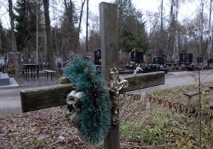 В Краматорске девятилетние школьники повредили 30 надмогильных памятников