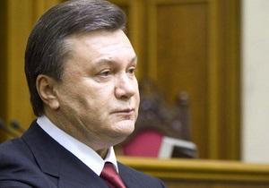 Янукович выступает за проведение местных выборов в этом году