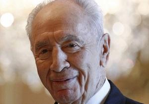 Старейший президент в мире Шимон Перес отмечает свой день рождения