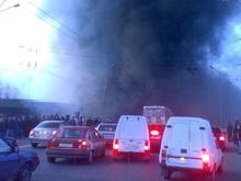 Три часа пожарные тушили 26-этажное здание в Киеве