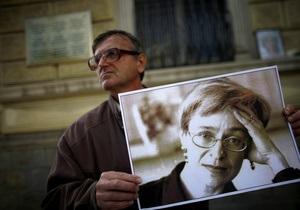 Сегодня в России и на Западе проходят акции памяти Анны Политковской