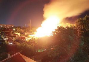 Масштабный пожар в Одессе: горели четыре элитных коттеджа