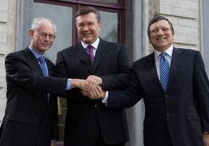 Сегодня в Киеве состоится саммит Украина - ЕС