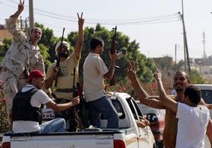 В оплоте Каддафи, за который идут бои, заперты 1200 иммигрантов