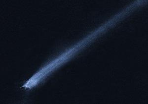 Солнцегрызущая комета пережила сближение с Солнцем