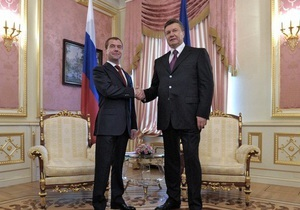 Янукович об отношениях с РФ: Мы встречаемся не потому что там такая уж любовь