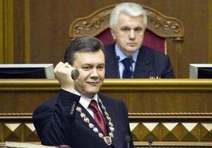 Литвин: Политологи заявили, что 2010 был годом Януковича. Я с ними согласен