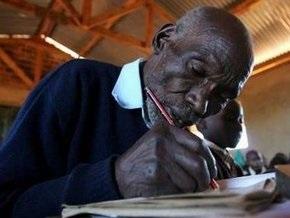 В Кении скончался самый пожилой в мире школьник