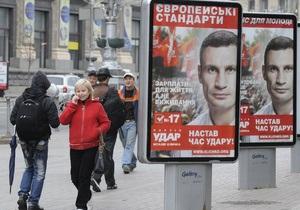 DW: Партия Кличко добилась успеха, но не полного