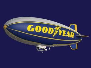 Дирижабли Goodyear голосуют за безопасность в Европе