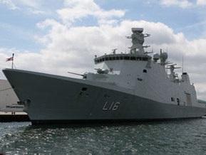 Датские моряки спасли пиратское судно в Аденском заливе