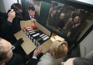 Тимошенко добивается третьего тура выборов