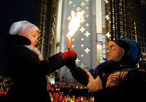 Фотогалерея: День памяти жертв Голодомора. Акция у киевского Мемориала