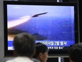 Северная Корея запустила седьмую ракету за последние пять дней