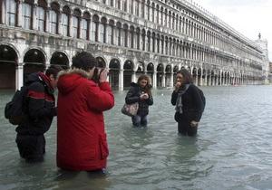 В Венеции - сильнейшее за 50 лет наводнение, затоплены две трети города