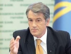 К Ющенко пришли нашеукраинцы и Яценюк