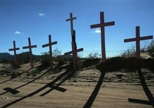 В Сумской области пенсионер обогревал дом украденными с кладбища крестами