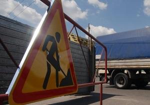 В Киеве реконструируют улицу Горького