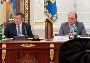 Янукович - Кулиняку: Сыграешь нам и споешь