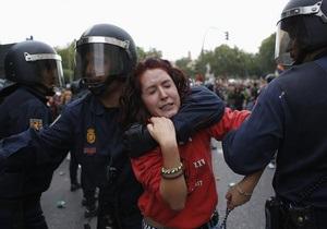 Фотогалерея: Штурм испанского конгресса. Ожесточенные столкновения в центре Мадрида